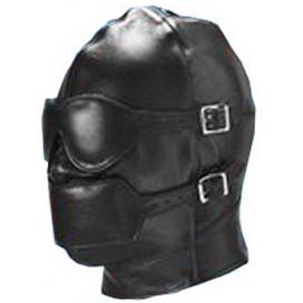 Cagoule SM avec baillon et masque