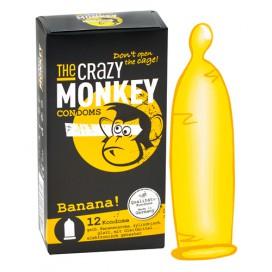 Préservatifs Arôme x12 Banane