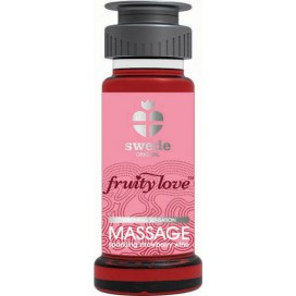 Swede Huile de massage Fruity Love Fraise 50 mL
