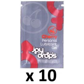 Dosettes Lubrifiant Arôme Cerise 5mL x10