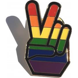 Pride Items Pin's Rainbow Peace